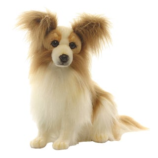 Hansa 16 Inch Plush Papillion Dog