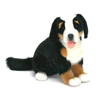 Hansa 14 Inch Plush Pup Bernese Dog
