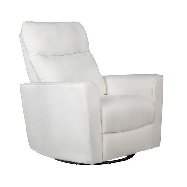 shop soho comfort upholstered swivel glider free shipping today