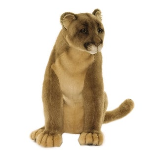 Hansa 9 Inch Plush Mountain Lion