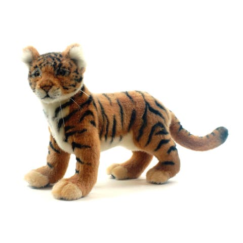 Hansa 12 Inch Plush Tiger Cub