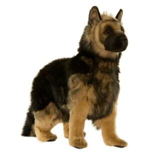 Hansa 20 Inch Plush German Shepard Puppy
