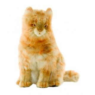 Hansa 13 Inch Plush Tan Calico Cat