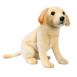 Hansa 10 Inch Plush Labrador Puppy