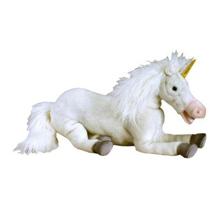 Hansa 17 Inch Plush Floppy Unicorn