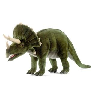 Hansa 20 Inch Plush Triceratops Dinosaur