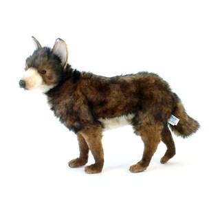 Hansa 20 Inch Plush Adult Coyote