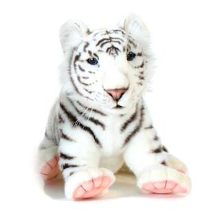 Hansa 15 Inch Plush White Tiger Cub