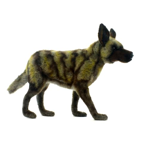 Hansa 15.75 Inch Plush African Wild Dog