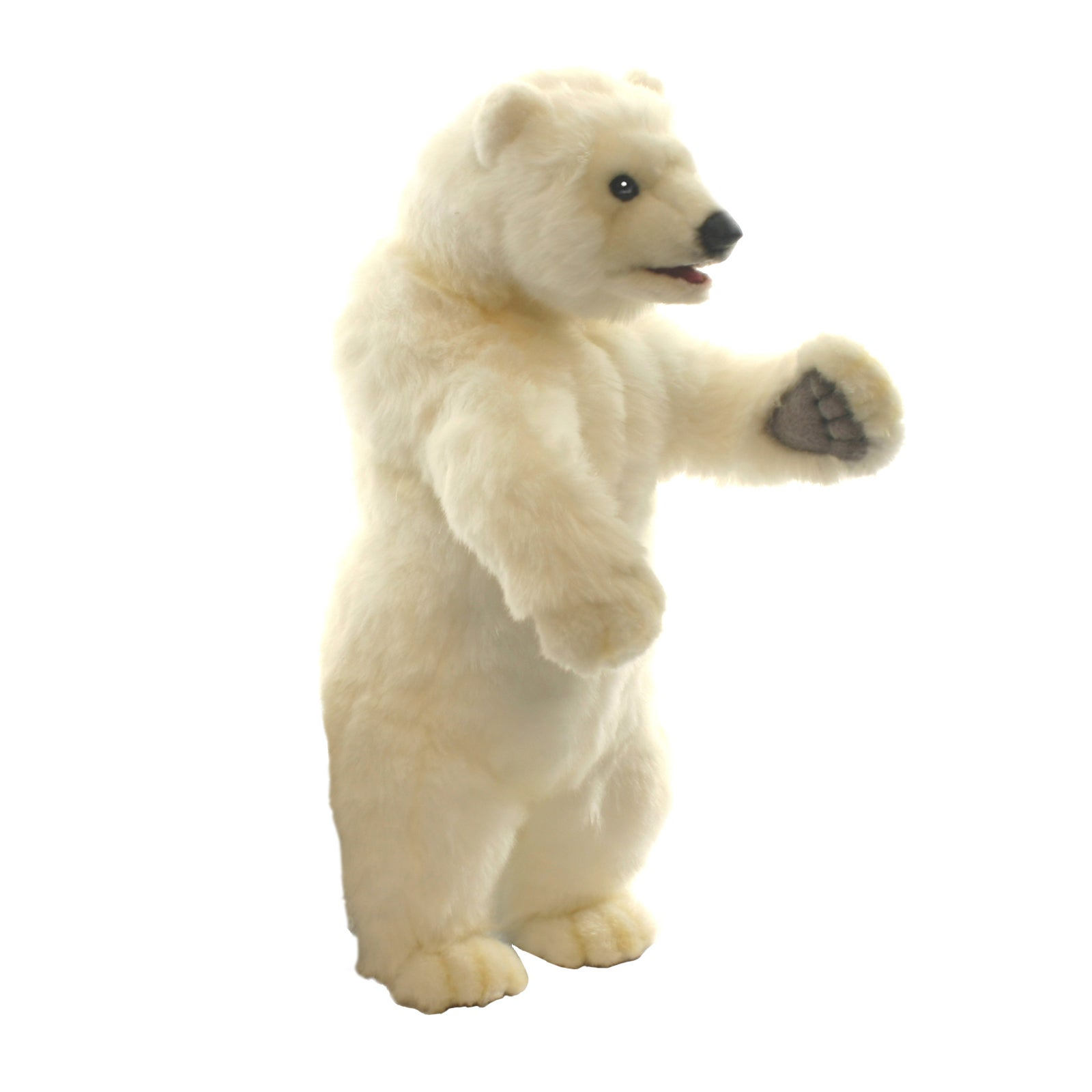 Hansa 19 Inch Plush Polar Cub on 2 Feet (1)