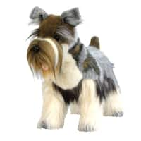 Hansa 18 Inch Plush Mini Gray Schnauzer