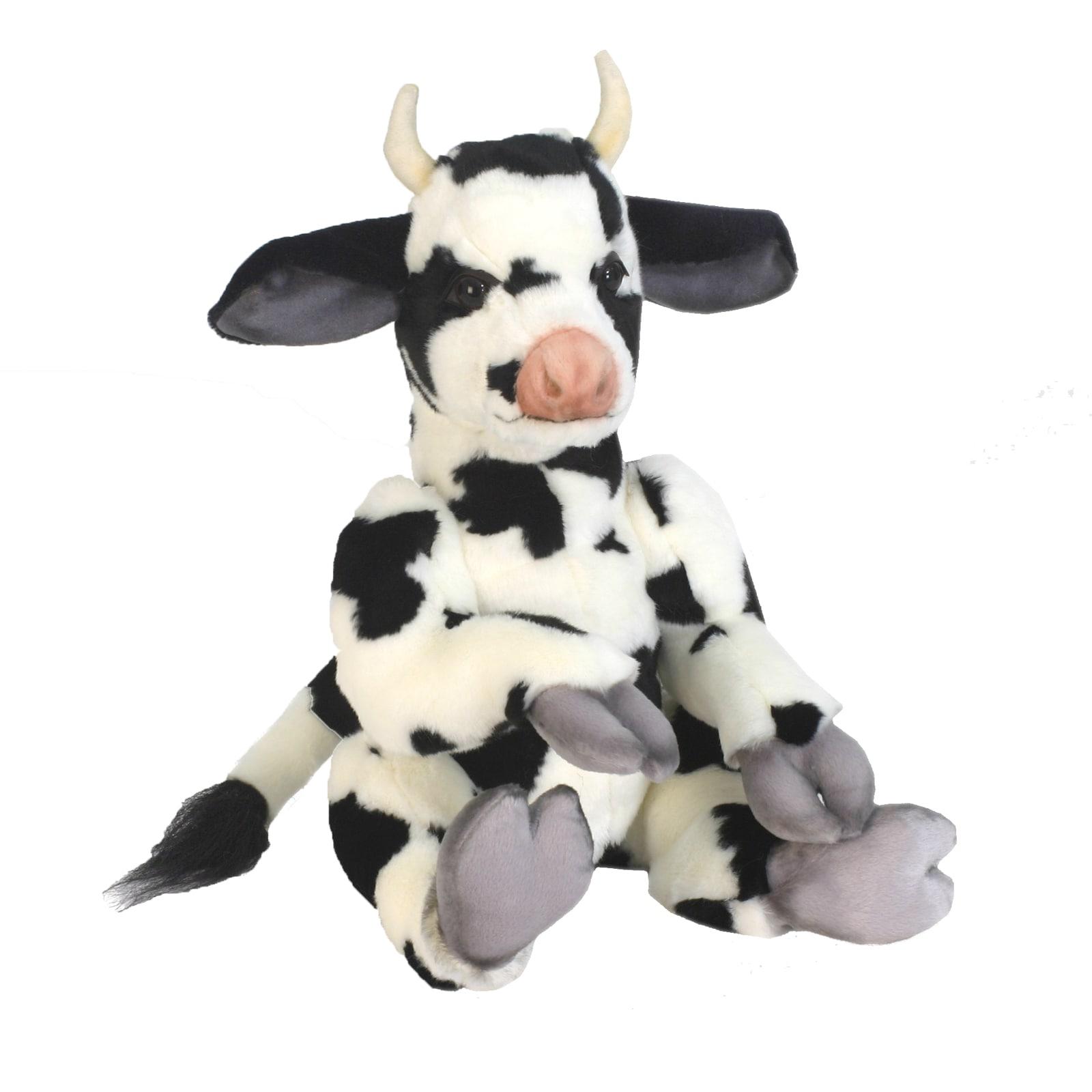 Hansa 13 Inch Plush Whimsey Series Cow (1)