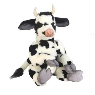 Hansa 13 Inch Plush Whimsey Series Cow