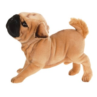 Hansa 15 Inch Plush Pug Dog
