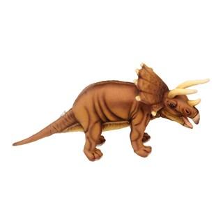 Hansa 17 Inch Plush Triceratops Dinosaur