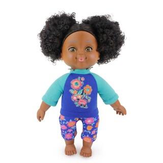 14.5 Inch African American Toddler Doll Aaliya