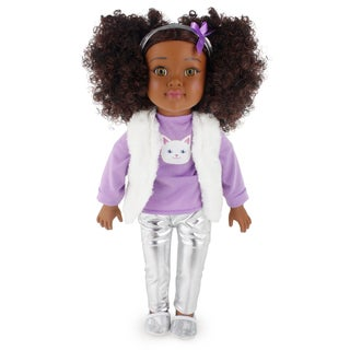 18 Inch African American Toddler Doll Brianna