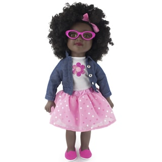 18 Inch African American Toddler Doll Kennedy