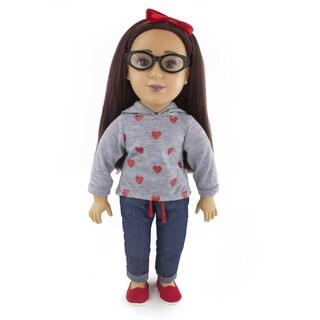 Positively Perfect 18 Inch Latina Toddler Doll Emily
