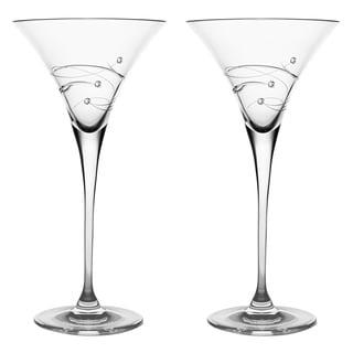 Barski Handmade Martini Glass (Set of 2)