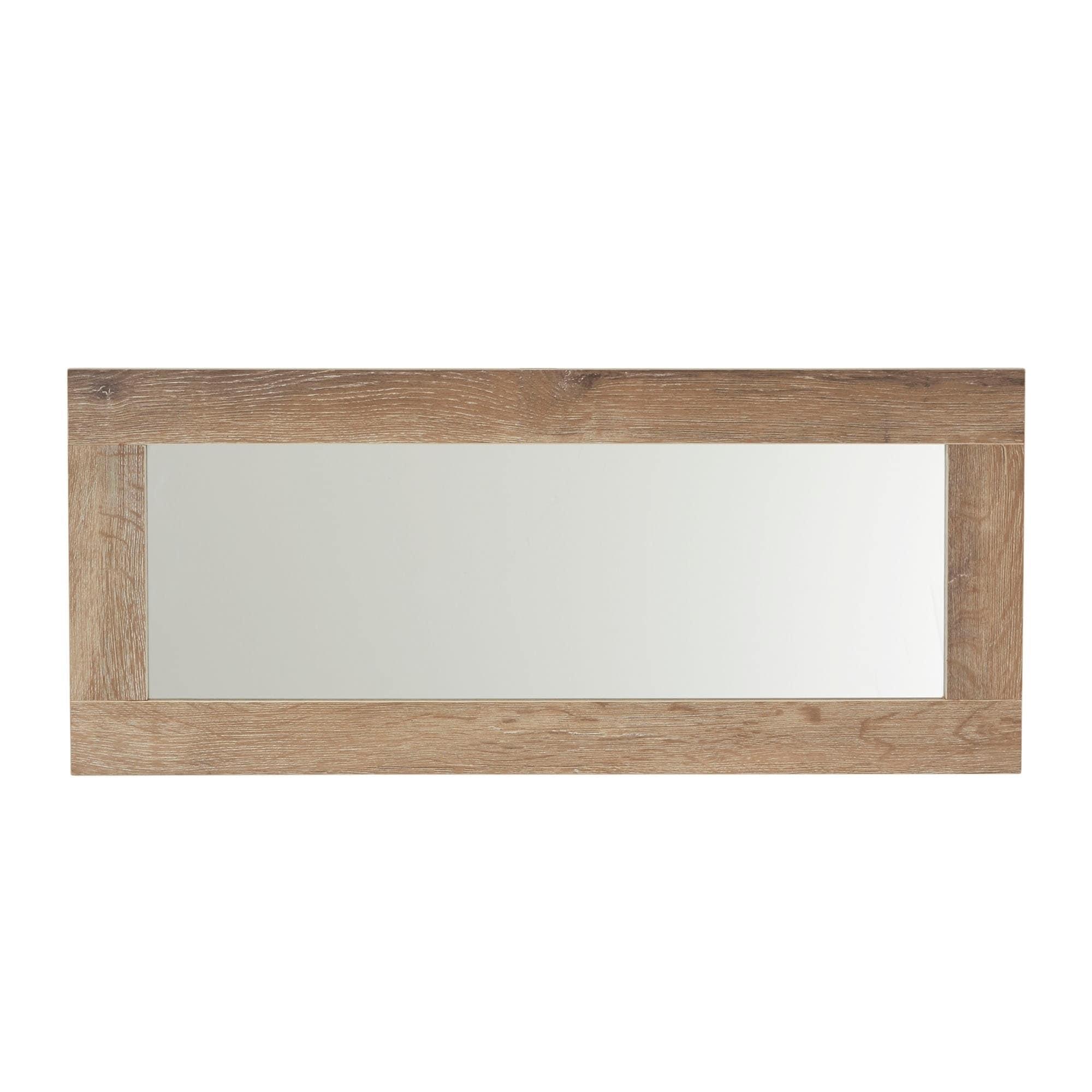Household Essentials Decorative Wall Mirror, Ashwood