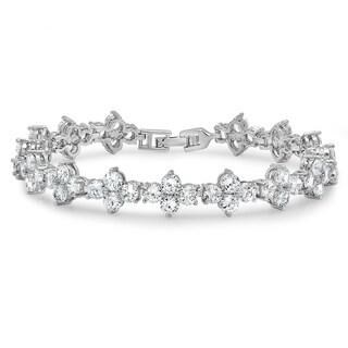 Piatella Ladies Twist Tennis Bracelet