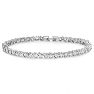 Piatella Ladies Cubic Zirconia Classic Tennis Bracelets