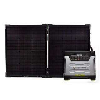 Goal Zero Yeti 1250 & Boulder 100 Briefcase Solar Generator Kit