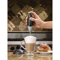 BonJour Primo Latte Rechargeable Hand-Held Beverage Whisk/Milk Frother