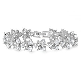 Piatella Ladies Cubic Zirconia Cocktail Tennis Bracelets