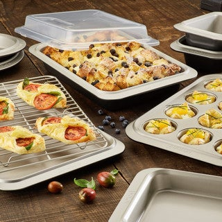 Anolon Bakeware Two-Tone Steel Nonstick Bakeware Set