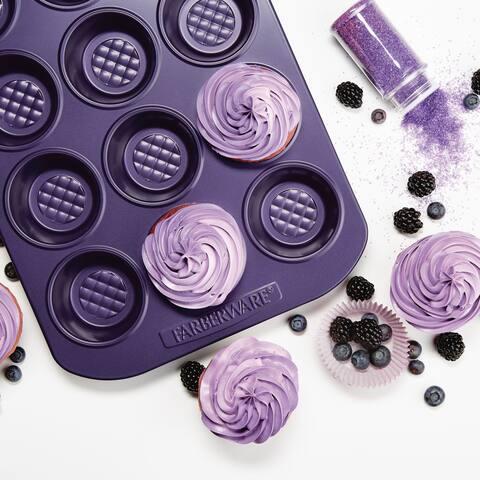 Farberware Colorvive Nonstick Muffin Pan