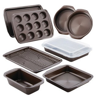 Link to Circulon Nonstick Bakeware 10-Piece Bakeware Set Similar Items in Bakeware