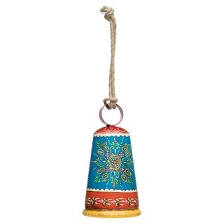 Handmade Henna Treasure Bell - Multi-Color (India)