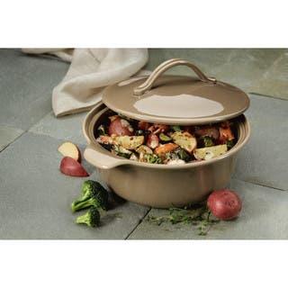 Anolon Vesta Stoneware 2.5-Quart Round Casserole|https://ak1.ostkcdn.com/images/products/17666107/P23876451.jpg?impolicy=medium