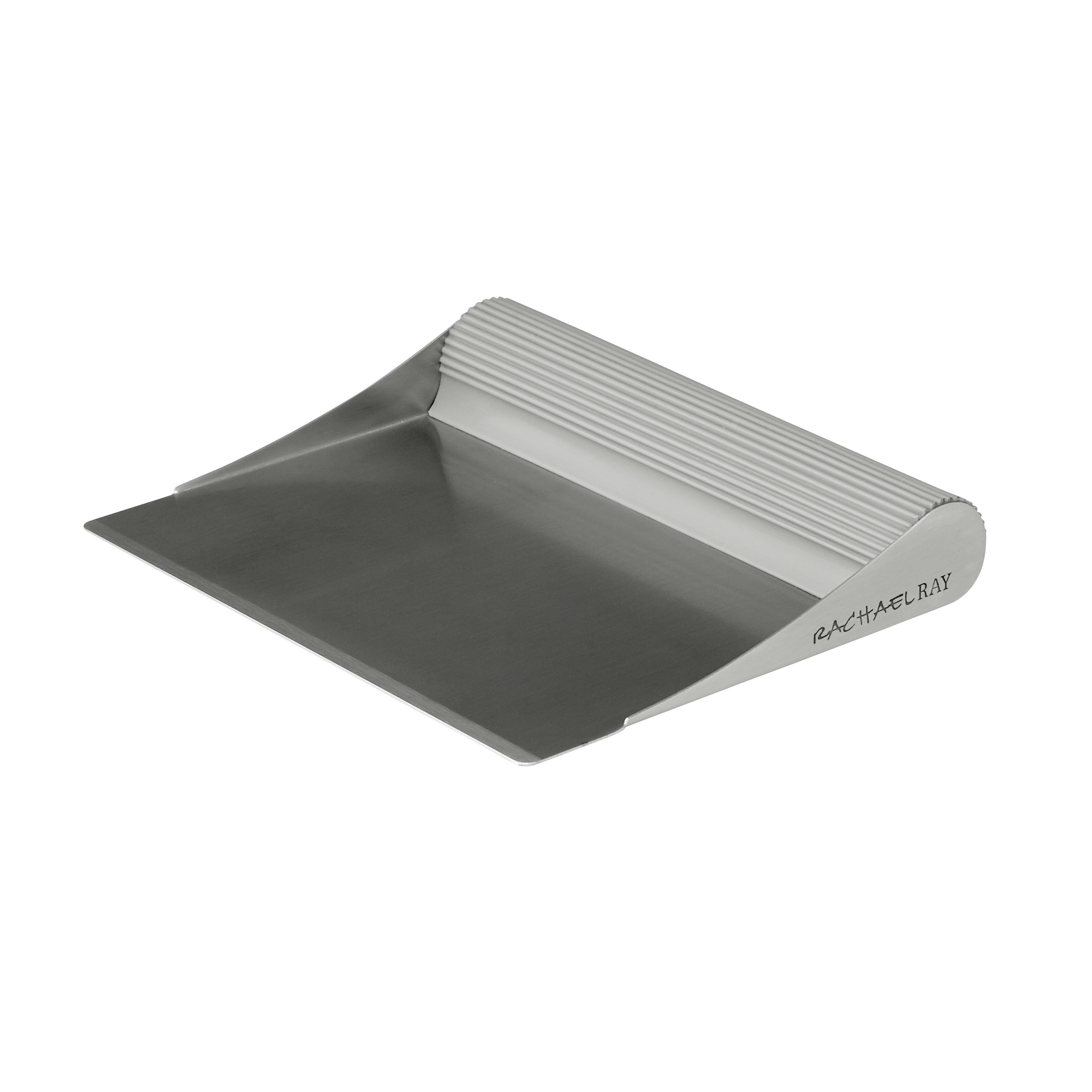 Rachael Ray Tools and Gadgets Stainless Steel Bench Scrap...
