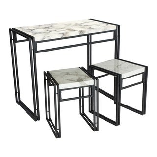 Urban Small Dining Table Set  sc 1 st  Overstock.com & urb SPACE Urban Small Dining Table Set - Free Shipping Today ...
