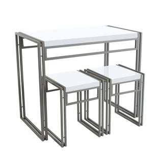 urb SPACE Urban Small Dining Table Set