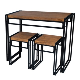 Urb space urban small dining table set free shipping for Outdoor dining sets for small spaces