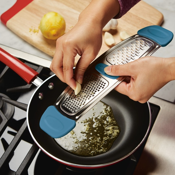 Rachael Ray Stainless Steel Multi-Grater with Silicone Handles. Opens flyout.