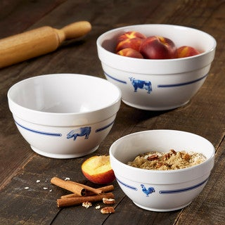 Paula Deen Country Barnyard Pantryware Mixing Bowl Set