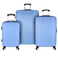 Elite Luggage Versatile 3-Piece Hardside Spinner Luggage Set