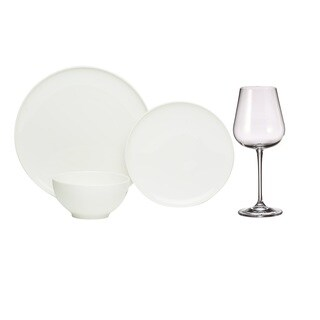Red Vanilla Everytime White Wine & Dine 24pc Set