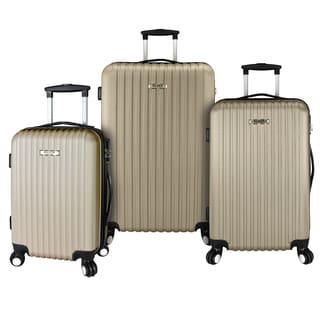 Elite Luggage 3-Piece Lightweight Luggage Set