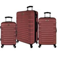 Elite Luggage 3-Piece Hardside Spinner Luggage Set