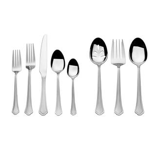 International Silver Capri Frost 51 Pc Flatware Set