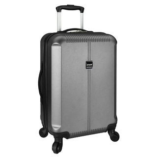 U.S. Traveler 21-inch Hardside Carry-On Spinner Upright Suitcase