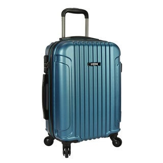 U.S. Traveler Akron 21-inch Hardside Carry On Spinner Upright Suitcase