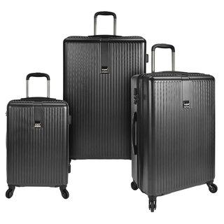 U.S. Traveler Sparta 3-Piece Hardside Spinner Luggage Set