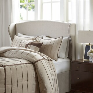Madison Park Catalina Fabric Upholstered Headboard